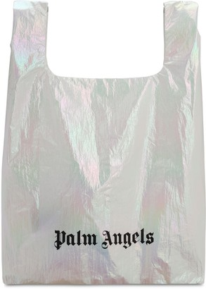 Palm Angels METALLIC NYLON TOTE BAG