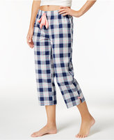 Jenni by Jennifer Moore Cotton Plaid Capri Pajama Pants, Only at Macy's