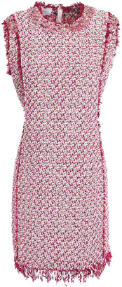 Giambattista Valli Embellished Cotton-blend Boucle-tweed Mini Dress