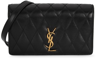 Saint Laurent Angie small leather cross-body bag