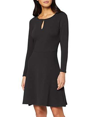 Dorothy Perkins Women's Keyhole Seamed Fit & Flare Dress,6 (Size:6)