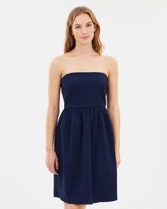 J.Crew Strapless Day-to-Night Dress