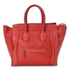 Celine Vintage Mini Top Handle Leather Bag