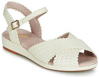 Miss L Fire Miss L'Fire BRIGITTE women's Sandals in White
