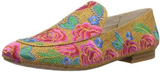 Kenneth Cole New York Women's Westley Embroidery Loafer Flat