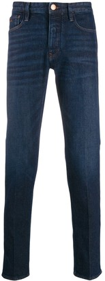 Emporio Armani slim-fit denim trousers