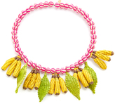 Mercedes Salazar Banana Choker Necklace