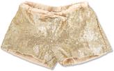 Marie Chantal Marie-Chantal Sequin Shorts