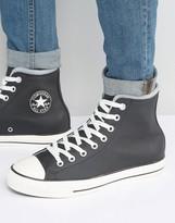 Converse Chuck Taylor All Star Plimsoll In Black 153820c