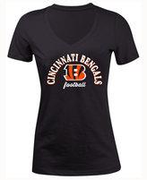 5th & Ocean Women's Cincinnati Bengals Checkdown LE T-Shirt