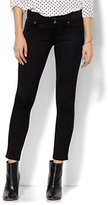 New York & Co. Soho Jeans - Curve Creator Ankle Legging - Black