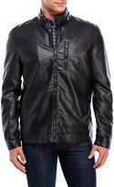 Brave Soul Gothenburg Faux Leather Motorcycle Jacket