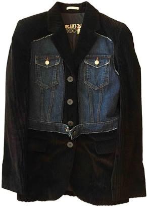 Jean Paul Gaultier Black Cotton Jackets