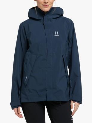 Haglöfs Tjarn Women's Waterproof Jacket, Tarn Blue