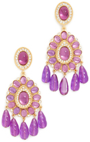 Kenneth Jay Lane Amy Drop Earrings
