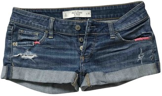 Abercrombie & Fitch Blue Denim - Jeans Shorts for Women