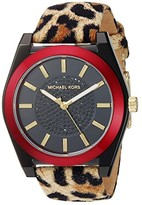 Michael Kors MK2855 - Channing Leopard (Brown/Black) Watches
