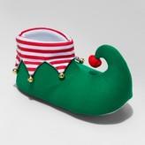 Wondershop Men's Elf Boot Slippers - Wondershop Green