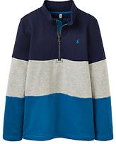Joules Little Joule Boys' Junior Dale Sweatshirt, Navy