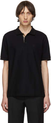 Burberry Black Eddie MJ Wear Polo