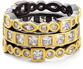 Freida Rothman Radiance Rings, Set of 3