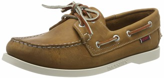 Sebago Women's Docksides NBK 7000GA0901 Boat Shoes Brown (Brun Fonce) 5 UK