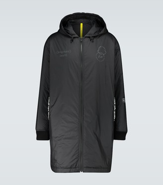 MONCLER GENIUS 7 MONCLER FRAGMENT Bastonx long nylon overcoat