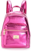 Juicy Couture Outlet - CASCADING JUICY METALLIC BACKPACK