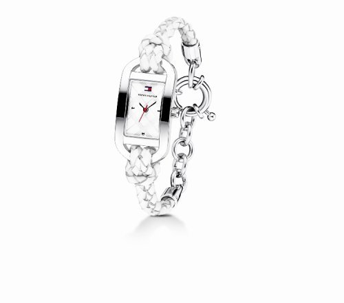 Tommy Hilfiger Women's 1780517 White Leather Rope Watch