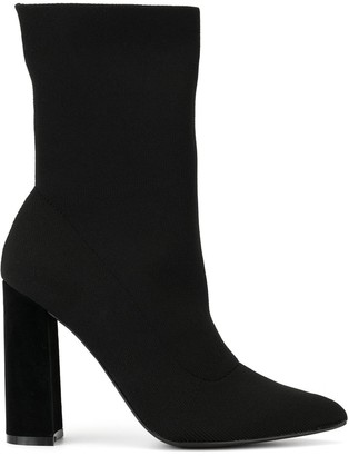 KENDALL + KYLIE Sock Ankle Boots
