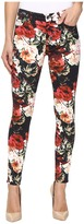 7 For All Mankind The Ankle Skinny w/ Contour Waist Band in Victorian Garden