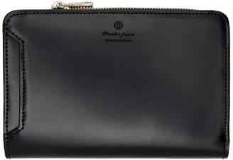 Master-piece Co Black Notch Wallet