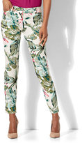 New York & Co. The Audrey Ankle Pant - Tropical Print - Tall