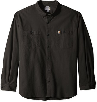 Carhartt Men's Big & Tall Rugged Flex Rigby Long Sleeve Work Shirt