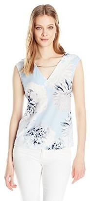 Calvin Klein Women's Sleeveless Tops with Hardware