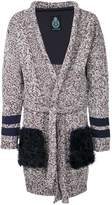 GUILD PRIME flecked cardi-coat