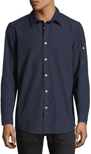 G Star G-Star Stalt Clean Lightweight Premium Denim Shirt