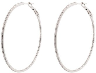 Dana Rebecca Designs Diamond-Embellished Hoop Earrings