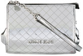 Armani Jeans quilted logo clutch - women - Polyester/Polyurethane - One Size