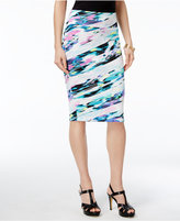 Thalia Sodi Maya Printed Scuba Pencil Skirt, Only at Macy's