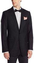 Calvin Klein Men's Check 2 Button Slim Fit Sport Coat