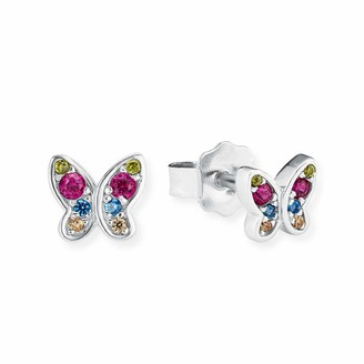 S'Oliver Girls Silver Stud Earrings - 2020868