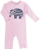 Urban Smalls Pink Boho Elephant Playsuit - Infant
