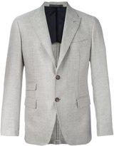 Eleventy multiple pocket blazer - men - Viscose/Cashmere/Wool - 56