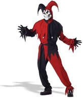 California Costumes Women's Evil Jester Costume