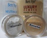 Ben Nye 2Pc. SAMPLE 10-ml Jars Luxury Set (Banana & Neutral Set)