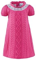 Ralph Lauren Pink Knitted Fairisle Dress