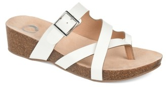 Journee Collection Madrid Wedge Sandal