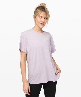 Lululemon All Yours Boyfriend Tee *Cloud