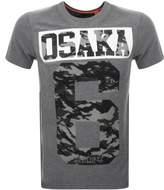 Superdry Osaka 6 Camo T Shirt Grey